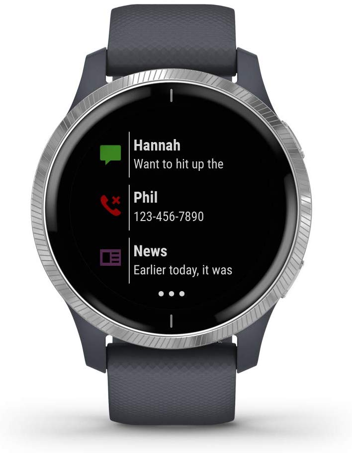 Garmin Venu Specs, features and prices