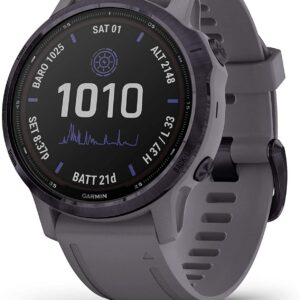 Garmin Fenix 6S Pro Solar Specifications