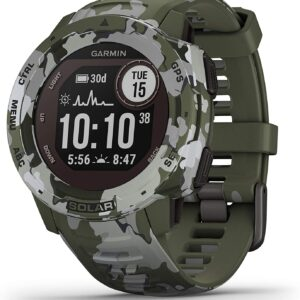 Garmin Instinct Solar Camo Specifications