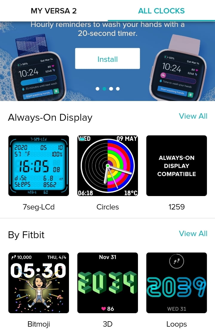 How to Change Fitbit Versa 2 Watch Face