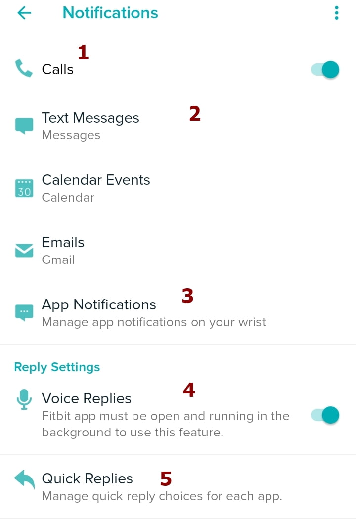read messages on Versa 2, reply to messages on Versa 2