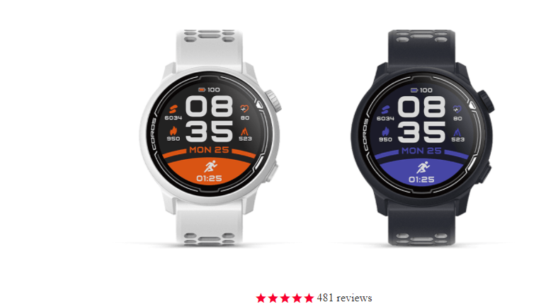 Coros Pace 2 is well designed smartwatch