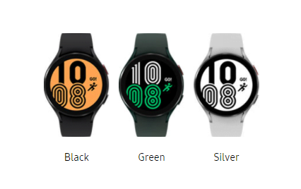 Galaxy watch 4 available colors