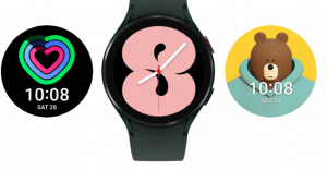 Galaxy watch 4 available watch faces