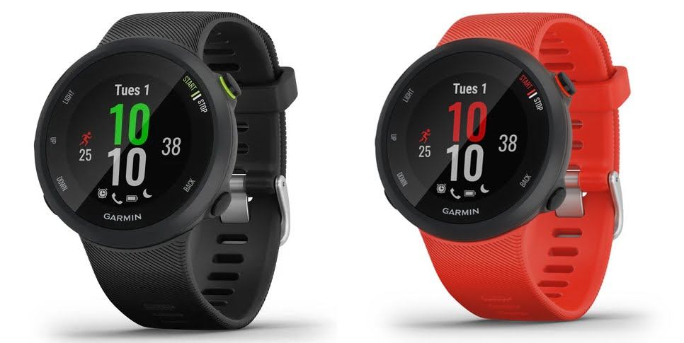 Garmin Forerunner 45 available colors