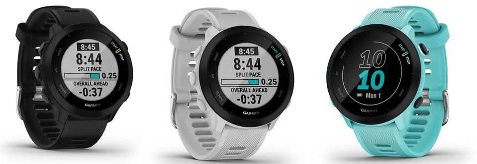 Garmin Forerunner 55 available colors
