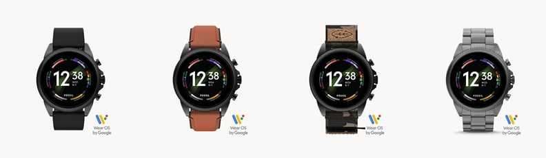 Fossil Gen 6 (44mm) all available colors